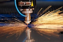 a laser cutting tool
